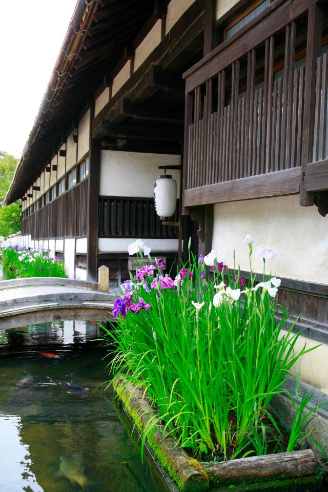 城下町のイメージ